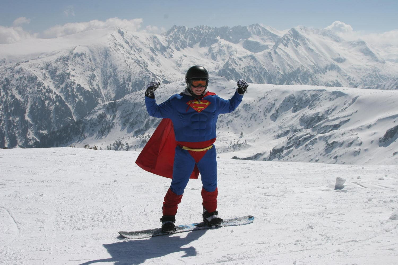 celebs who ski