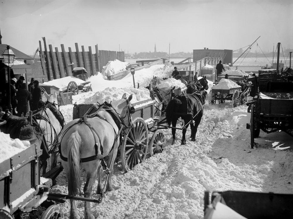 snow removal, great blizzard of 1888,