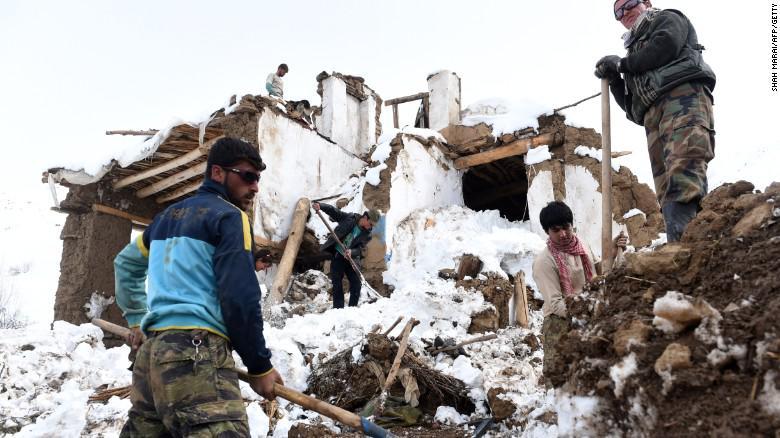Afghan Avy, deadliest avalanches,