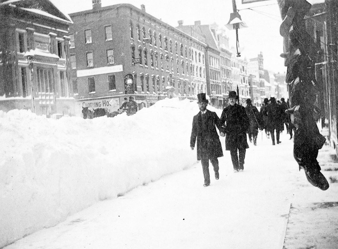 The Great Walk, great blizzard of 1888