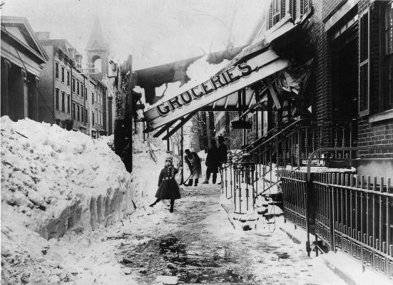 Great Groceries, great blizzard of 1888