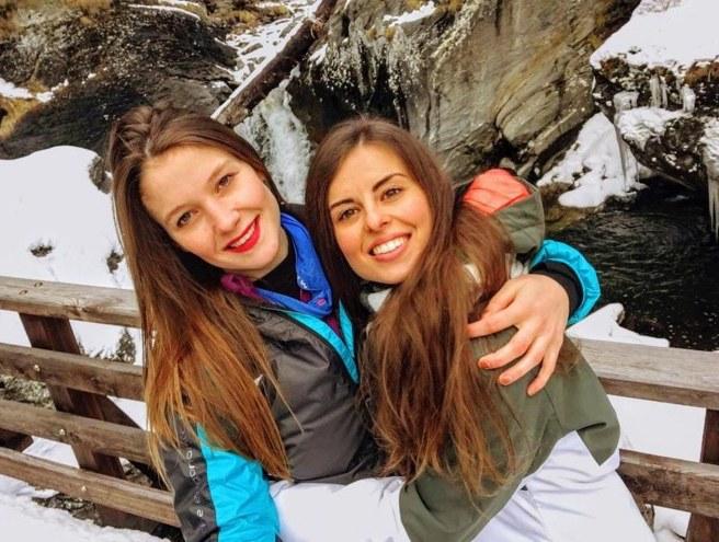 Italian alps, women freeze to death
