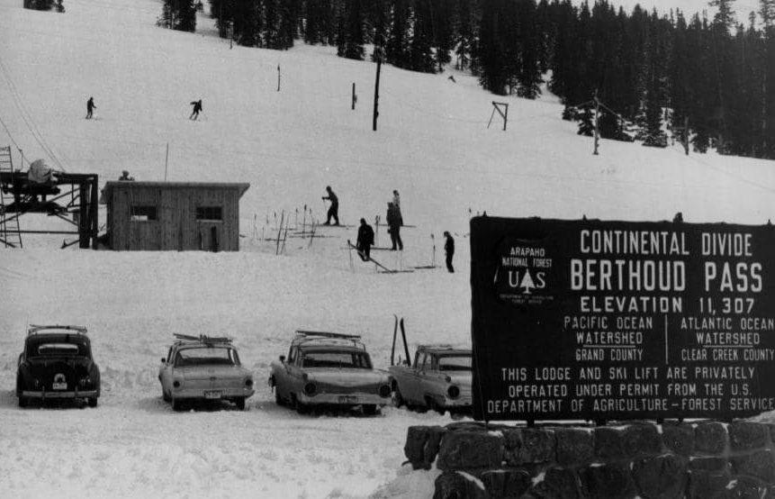 Continental Divide, Berthoud Pass, Colorado