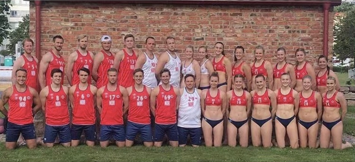 beach handball team