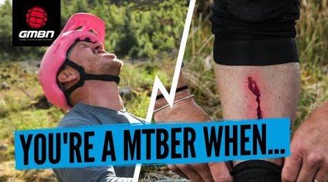 mountain biker, video