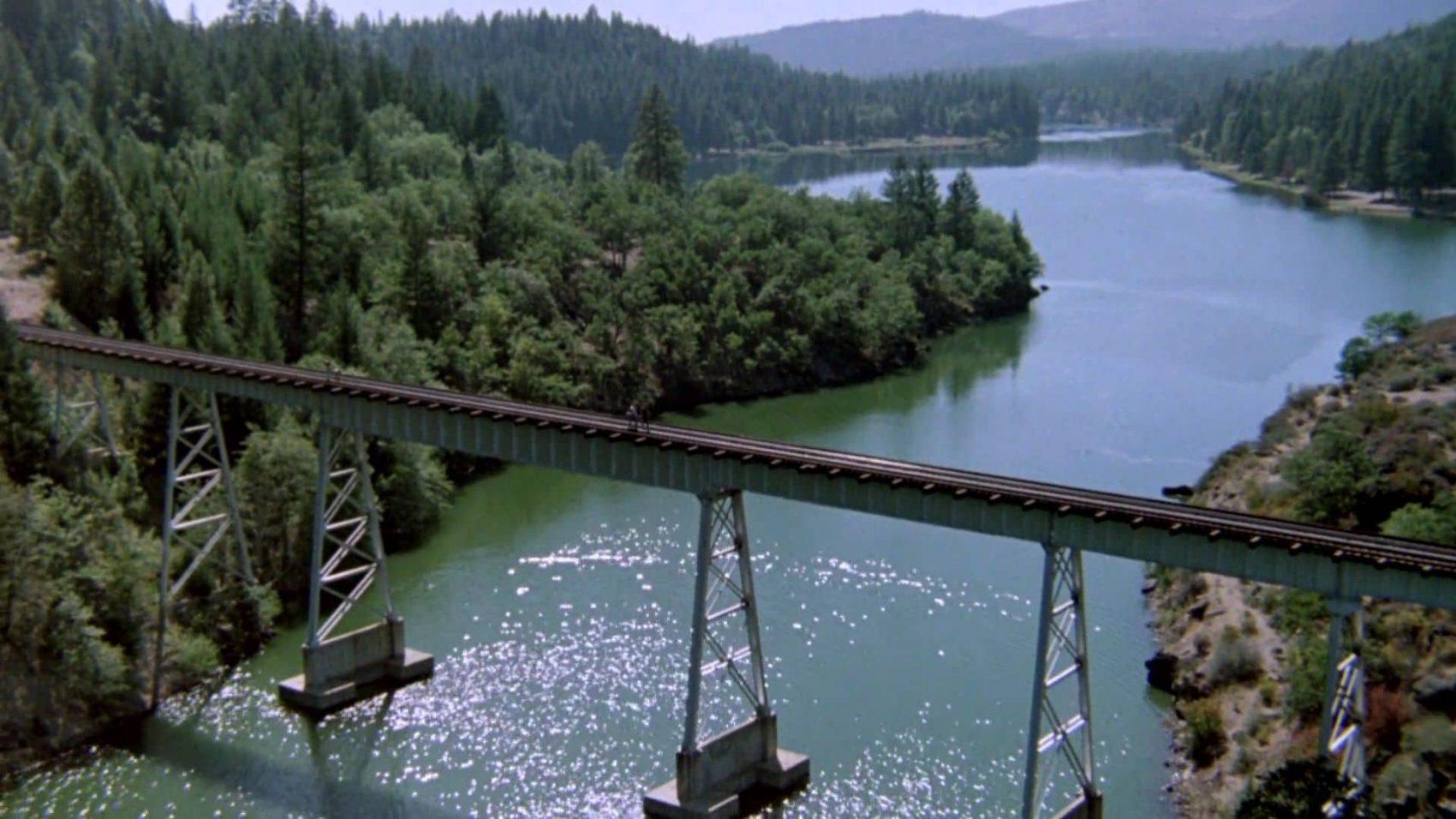 Lake Britton bridge, stand by me,