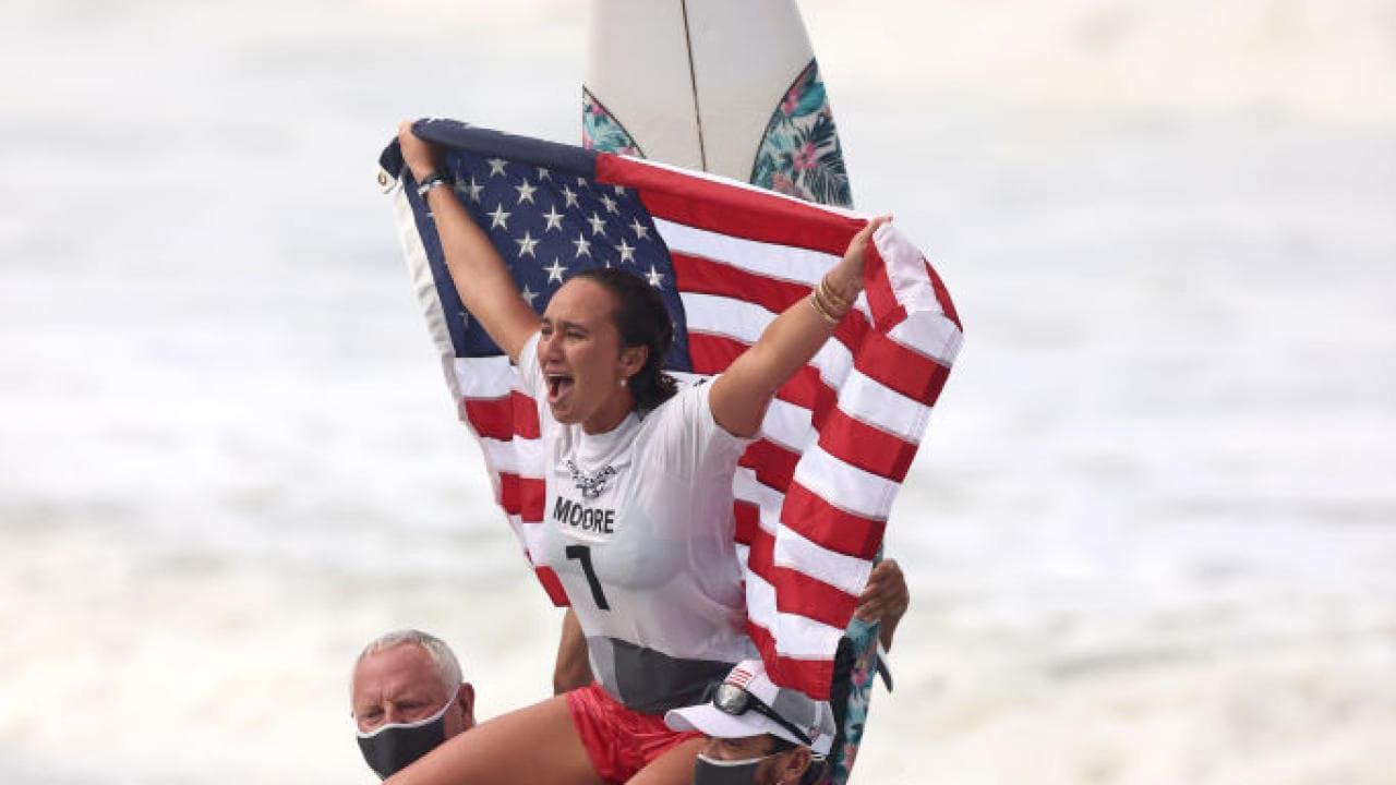 Carissa Moore, surfing, olympics, gold,