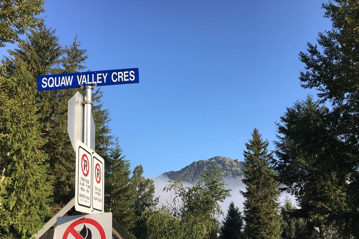 Squaw Valley crescent, whistler,