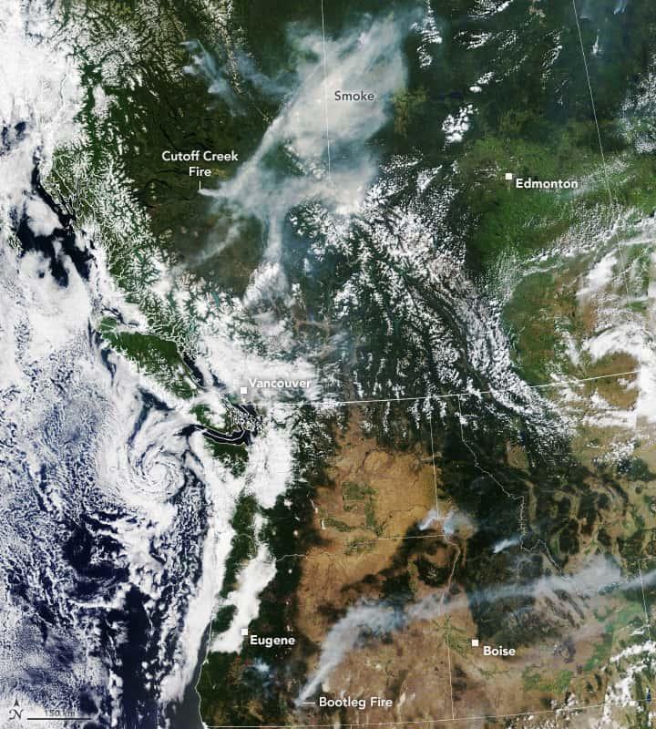 Pacific Northwest, heatwave, wildfires,