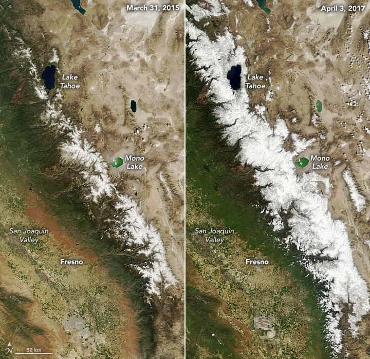 nasa, Sierra Nevada, California