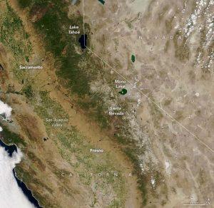 Sierra Nevada, snowpack, california