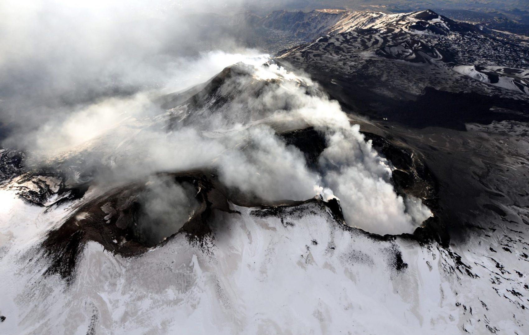 Mount volcano