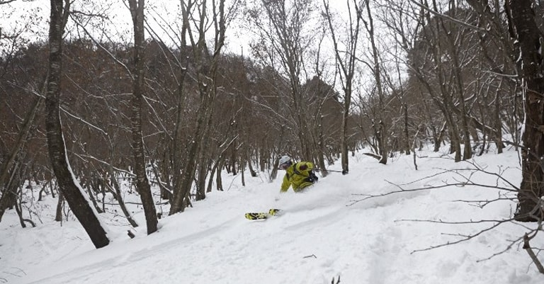secret island powder skiing