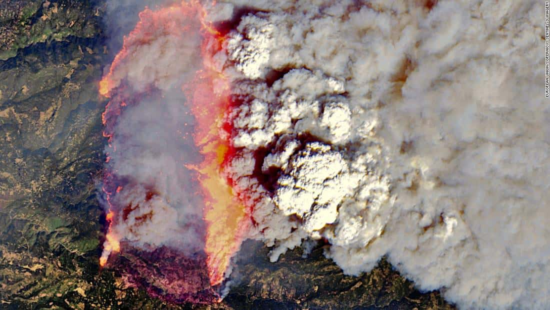Caldor Fire, california, Sierra-at-tahoe, wildfire,