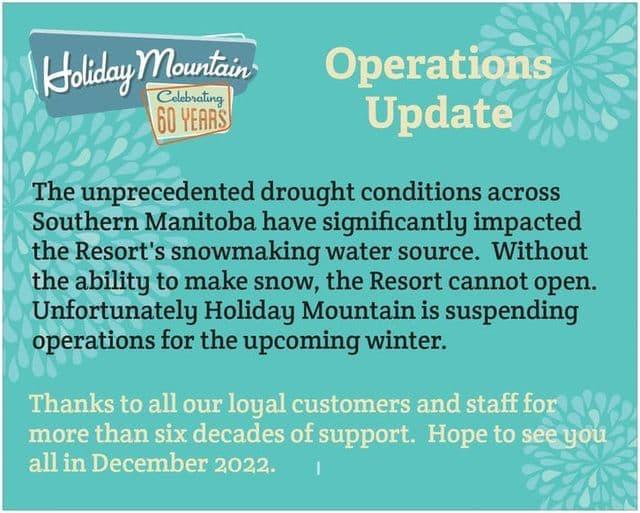 holiday mountain resort, Manitoba, canada,