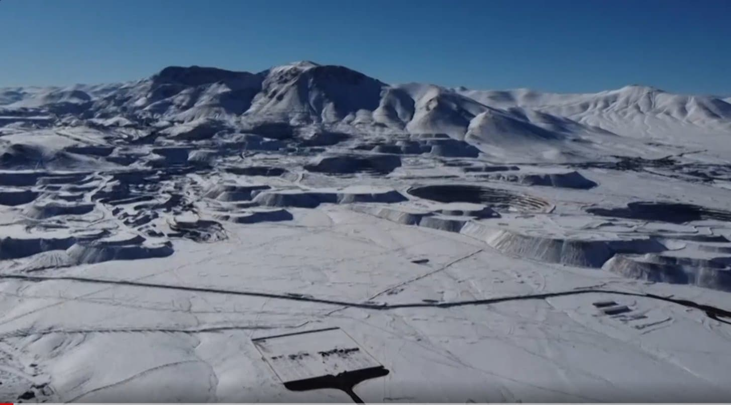 Atacama Desert, Chile, snow