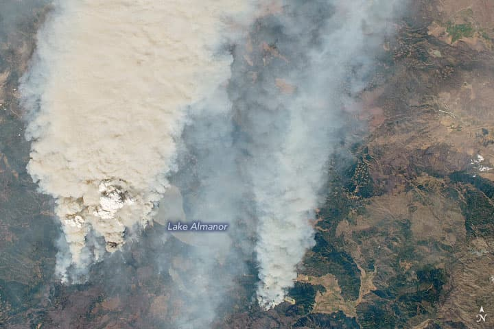 Dixie Fire, california,