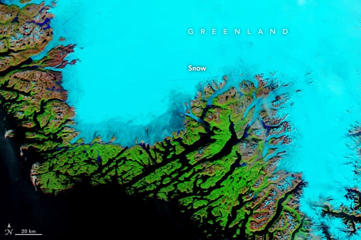 Greenland, rain,