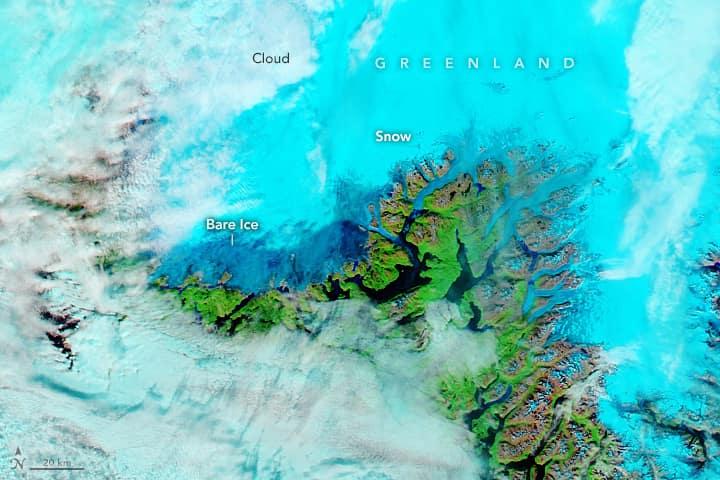 Greenland, rain