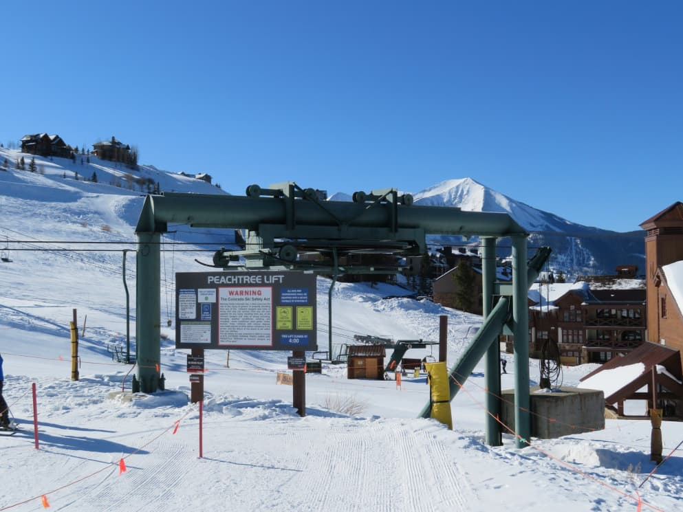 Peachtree, crested butte, colorado, vail resorts
