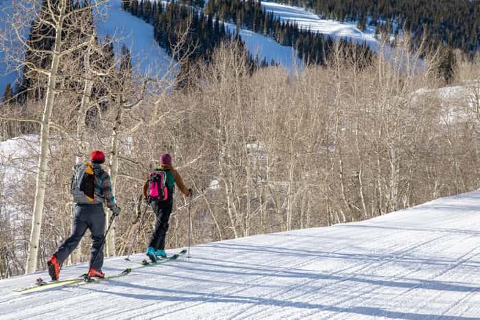 aspen snowmass, colorado, uphill, charging,