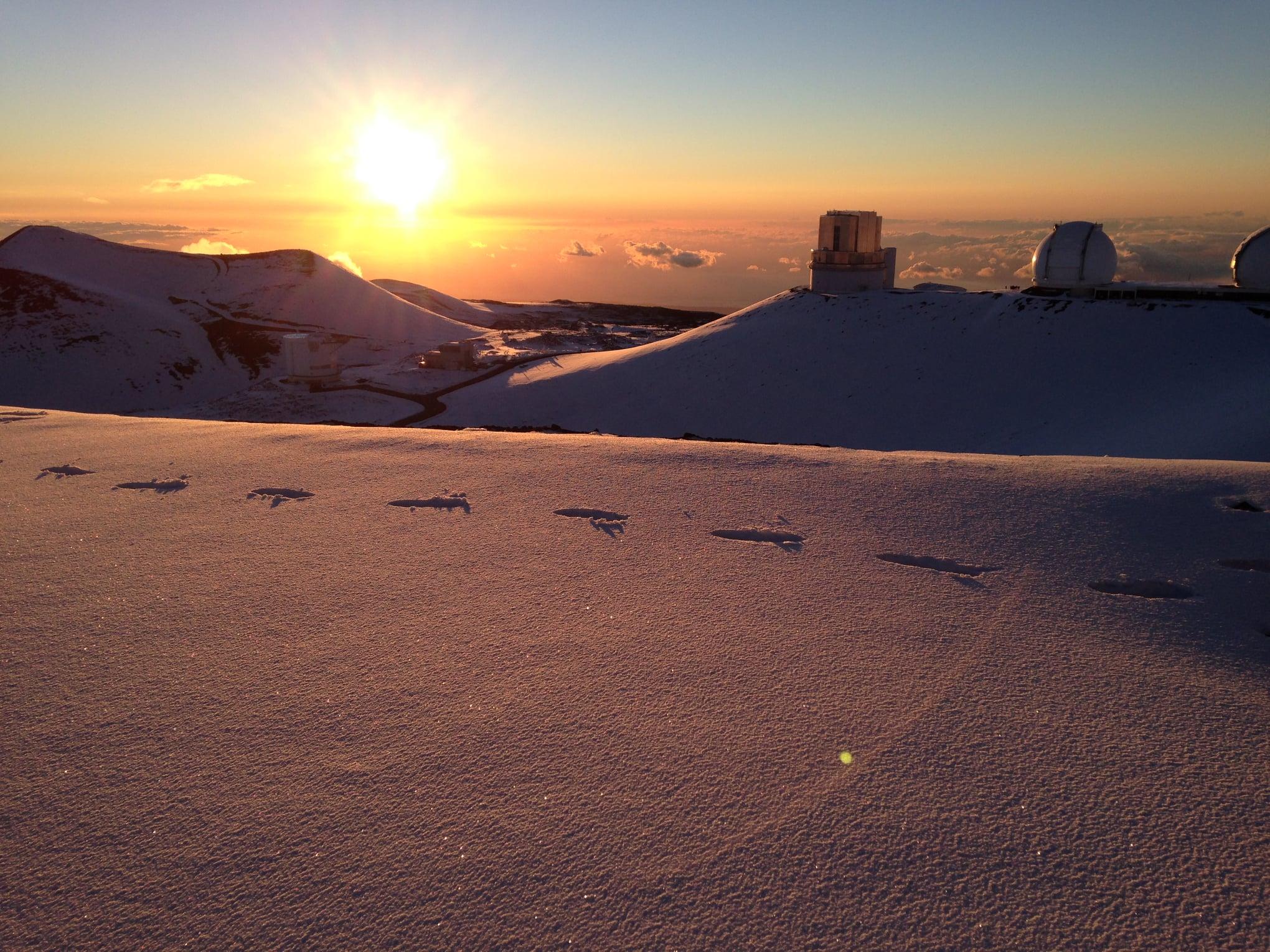 hawaii skiing