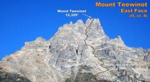 Teewinot, grand Teton national park, Wyoming,