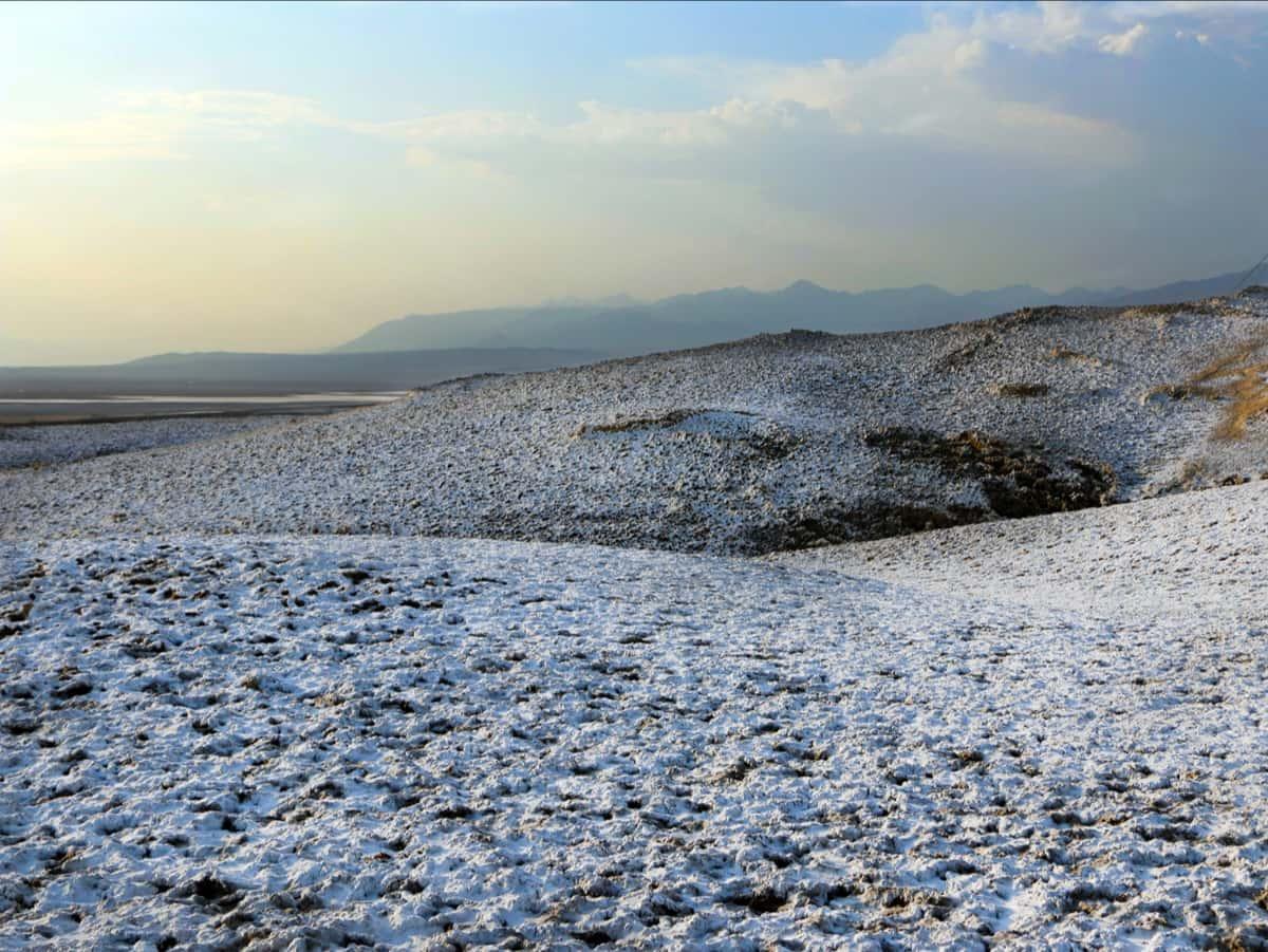 Death Valley, snow, california,