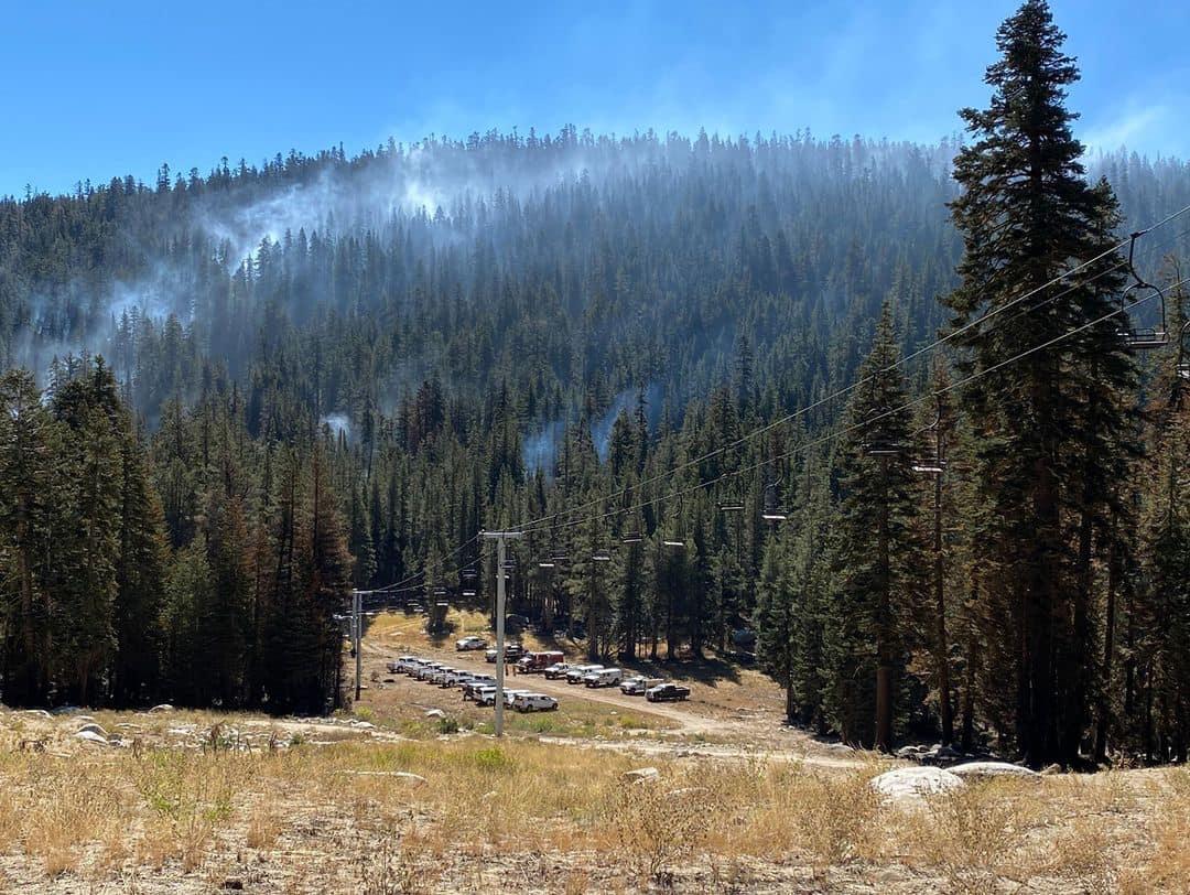 Sierra-at-tahoe, california, Caldor Fire, wildfire,