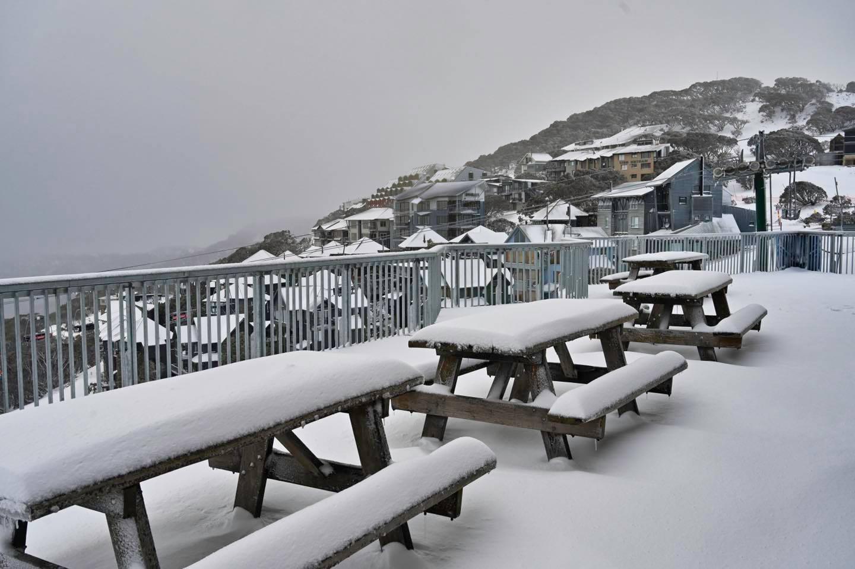 mount Hotham, Australia, snow,