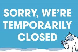 big snow American Dream, fire, closed, New Jersey