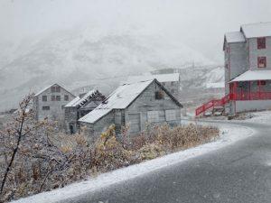 Hatcher Pass, Alaska, closed,