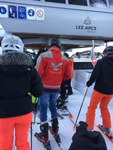 jean skiing