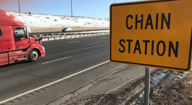 chain station