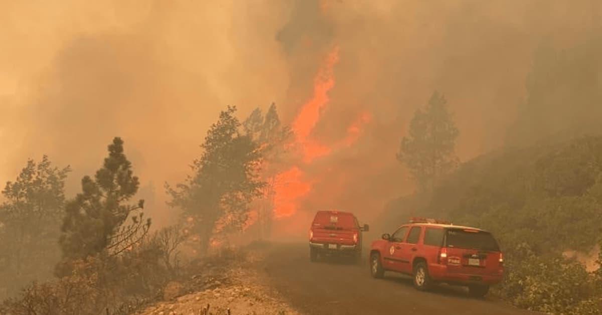 Caldor Fire, California, Lake Tahoe