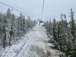 big sky resort, Montana, snow