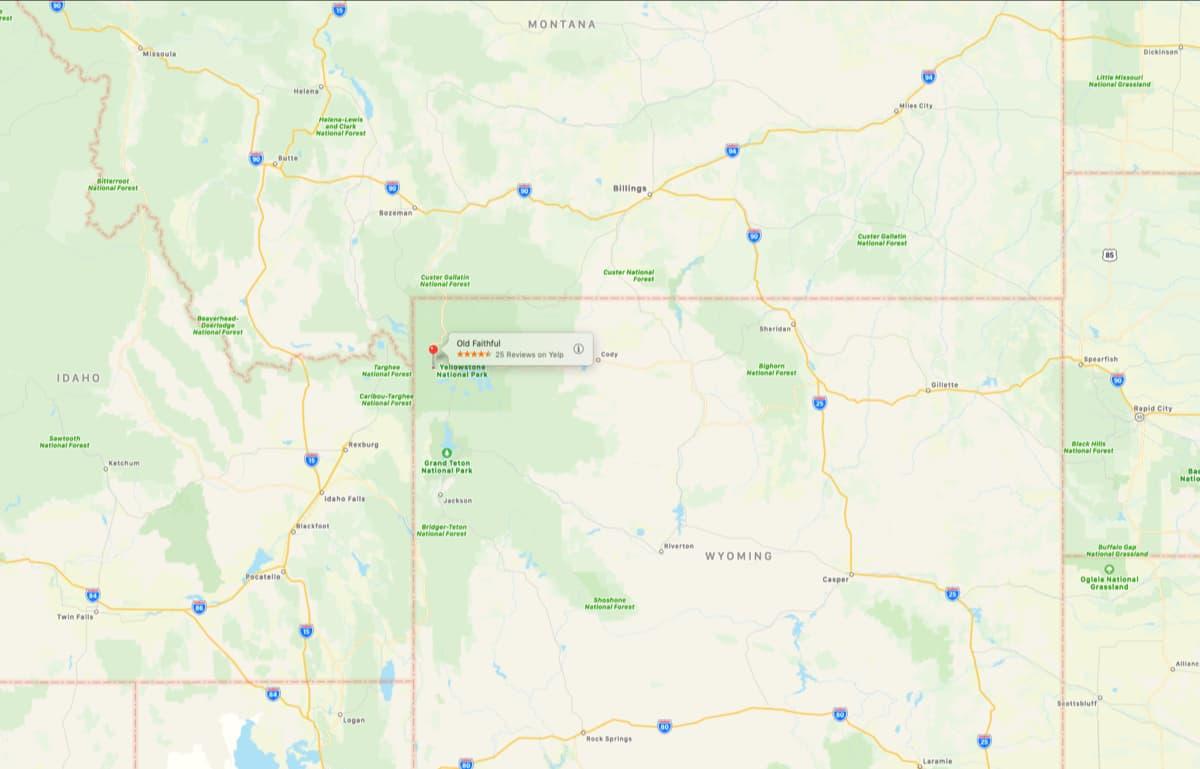 old faithful, Yellowstone,