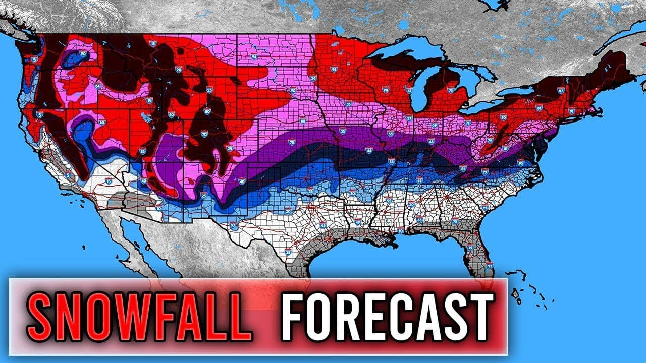 direct weather, snow forecast