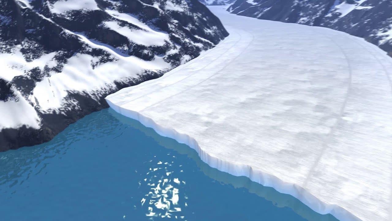 glaciers, melt, nasa,