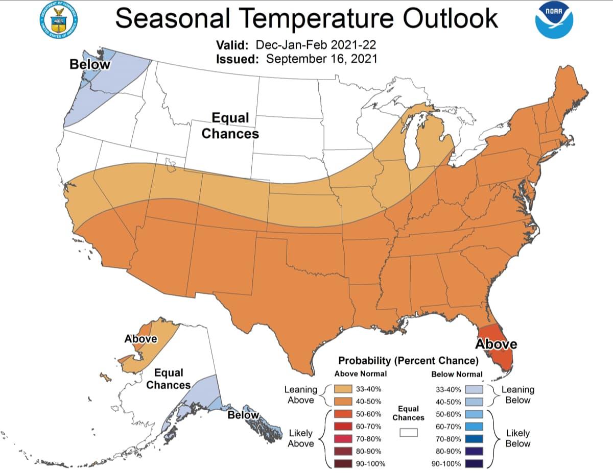 outlook, temperature, NOAA,