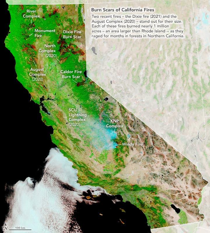 california fires,