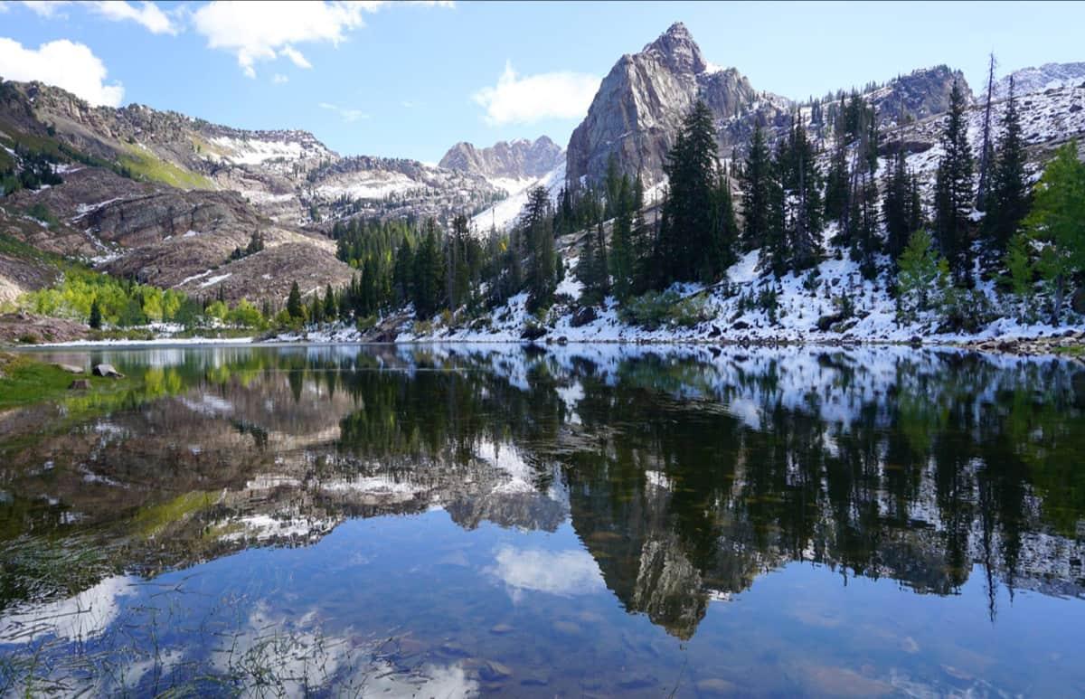 sundial peak, big cottonwood canyon, utah, Lake Blanche,