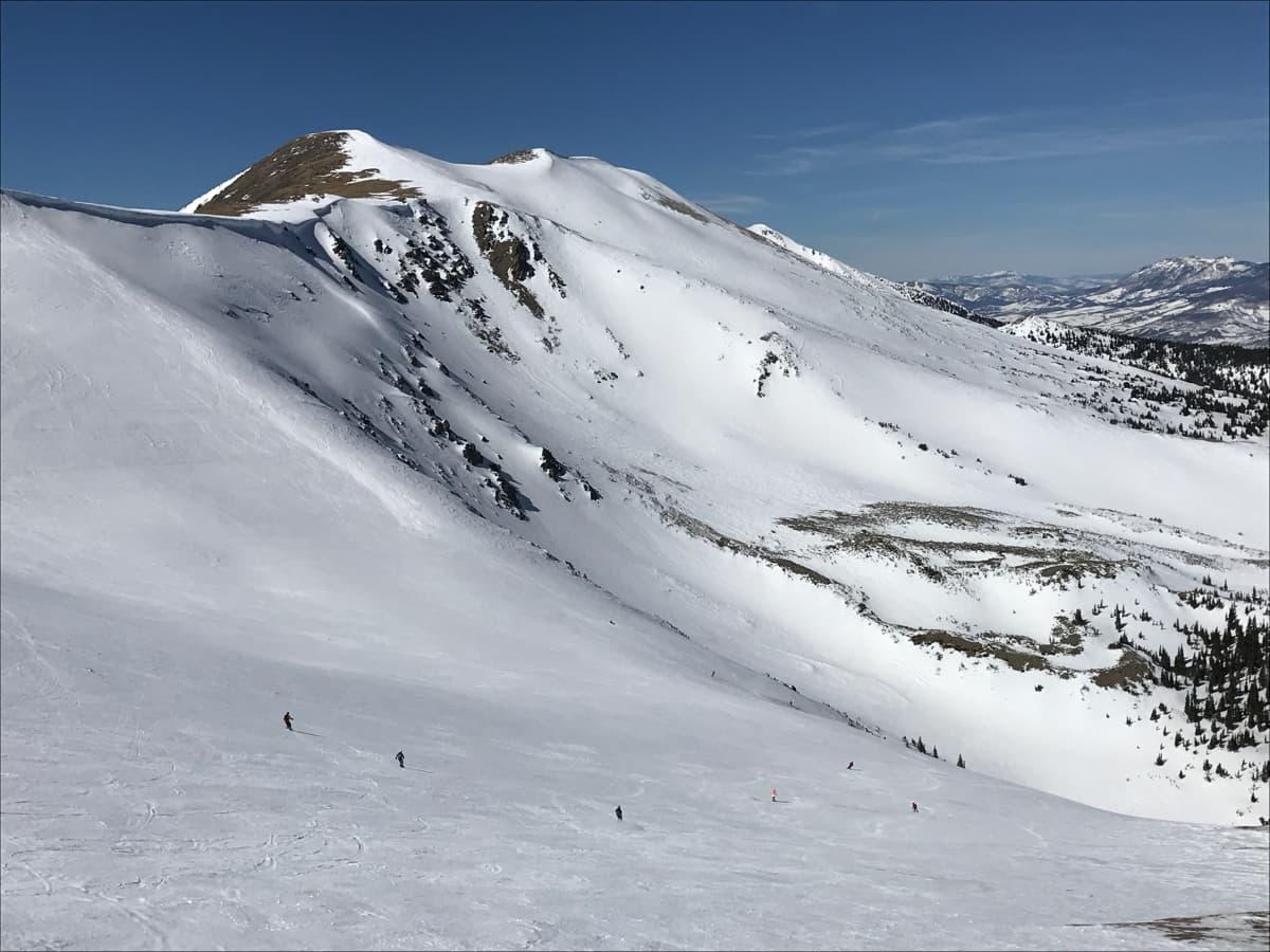 breckenridge, colorado, unexploded, avalanche, peak 6