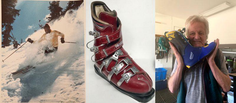 Sven Coomer, inventor of first plastic ski boot
