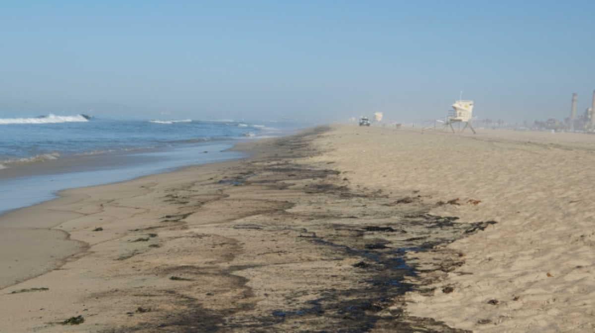 oil spill, california, Huntington Beach
