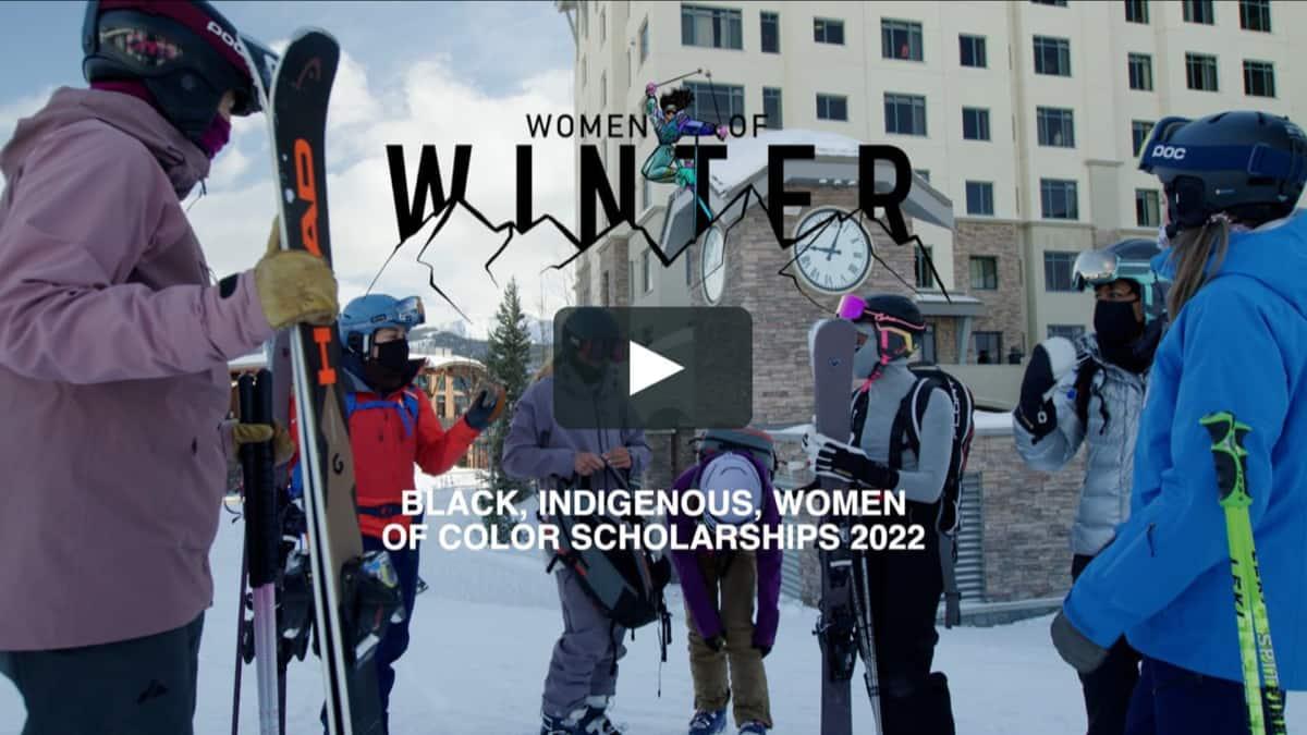 PSIA, women of winter, scholarship,
